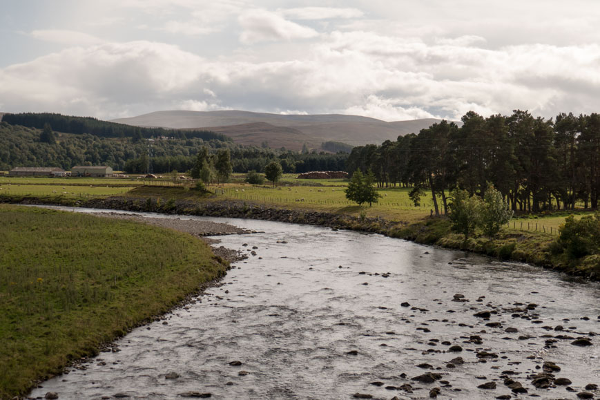 River Findhorn bei Tomatin
