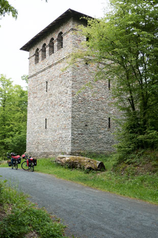 Römerturm am Gaulskopf, 184 km ab Start