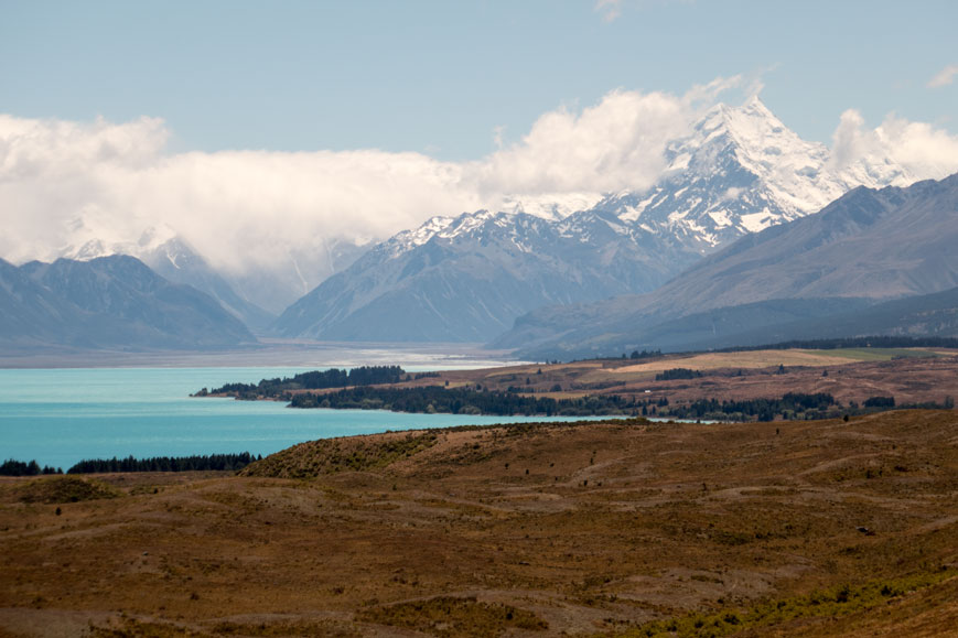 Southern Alps am Lake Ohau