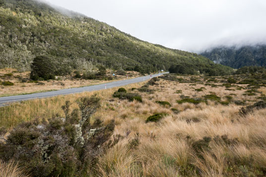 SH7 am Lewis Pass