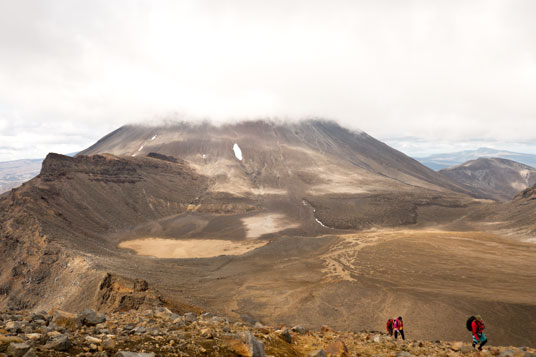 South Crater vor Mount Ngauruhoe