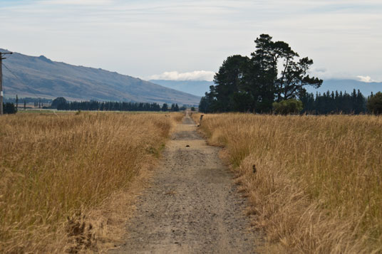 Otago Central Rail Trail bei Middlemarch
