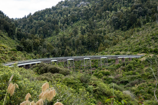Hapuawhenua Viaduct an der Old Coach Road