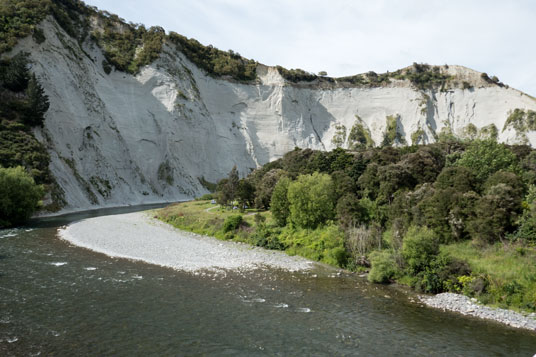 Clay Cliffs am Rangitikei River