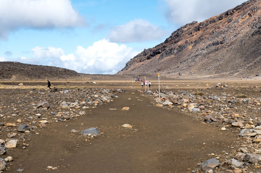 Tongariro Crossing, South  Crater