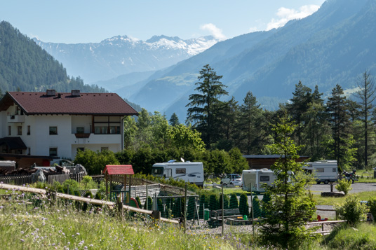 Camping Via Claudiasee bei Pfunds